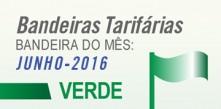 bandeira verde para junho