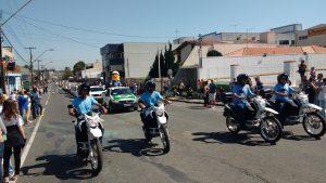 Fotos da participação da Cocel no Desfile Cívico de 2017