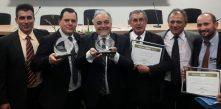 prêmio IASC sendo entregue à diretoria da COCEL