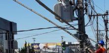 instalação de fibra ótica em campo largo pela cocel smart grid