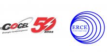 logotipos da Cocel e da ERCE