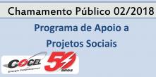 chamamento programa de apoio a projetos sociais da Cocel
