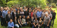foto de todos os colaboradores da cocel na abertura da sipat 2018