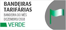 BANDEIRA ANEEL PARA O MÊS DE DEZEMBRO DE 2018 É A VERDE